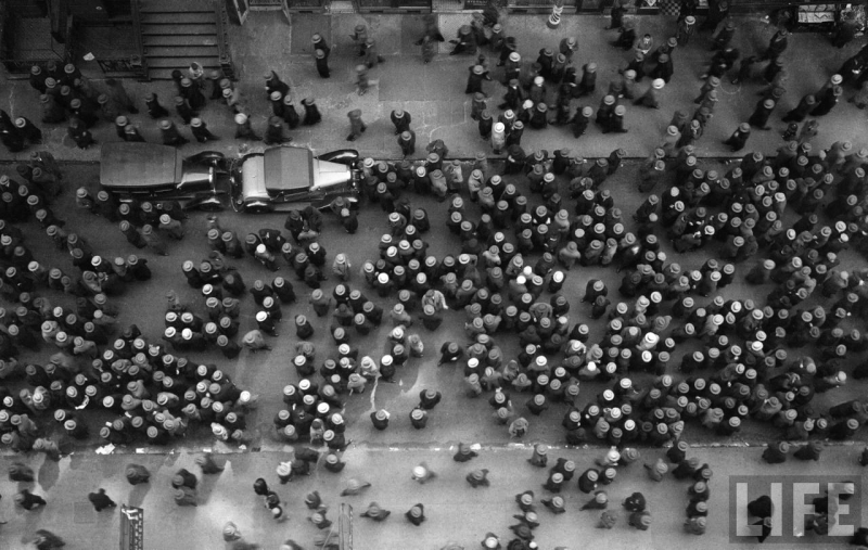1930 - Hats in Garment District