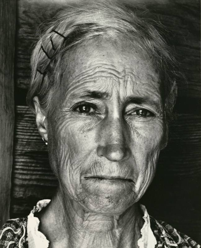 1937 - You have seen their faces - Lockert, Georgia. Tenant farmer's wife