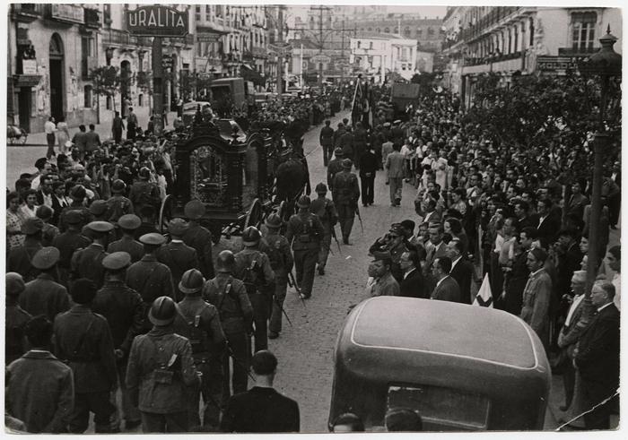 Funeral do general. Espanha, 1937