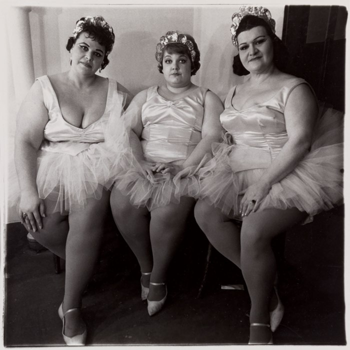 Three Circus Ballerinas, 1964