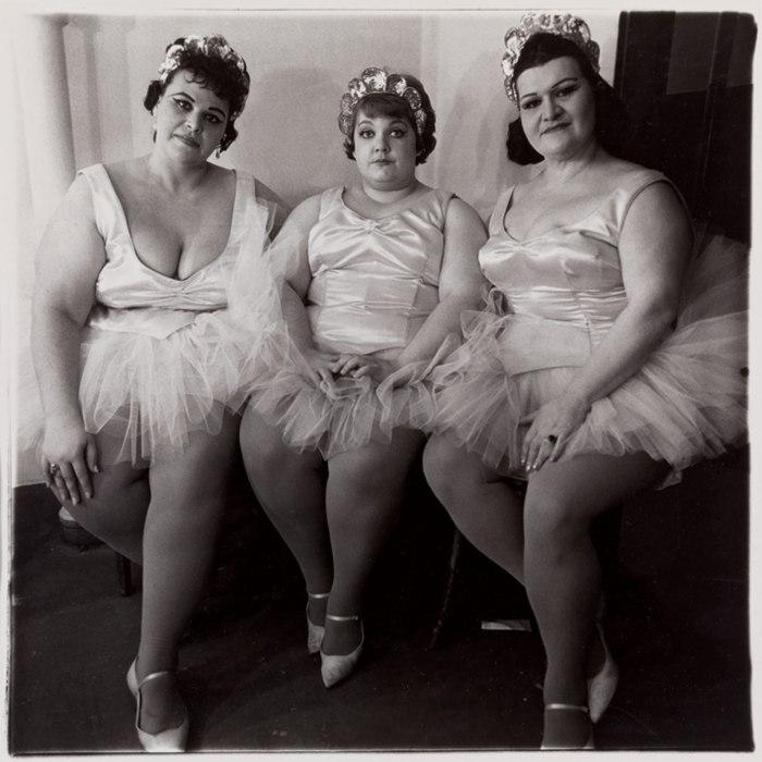 Three Circus Ballerinas, 1964