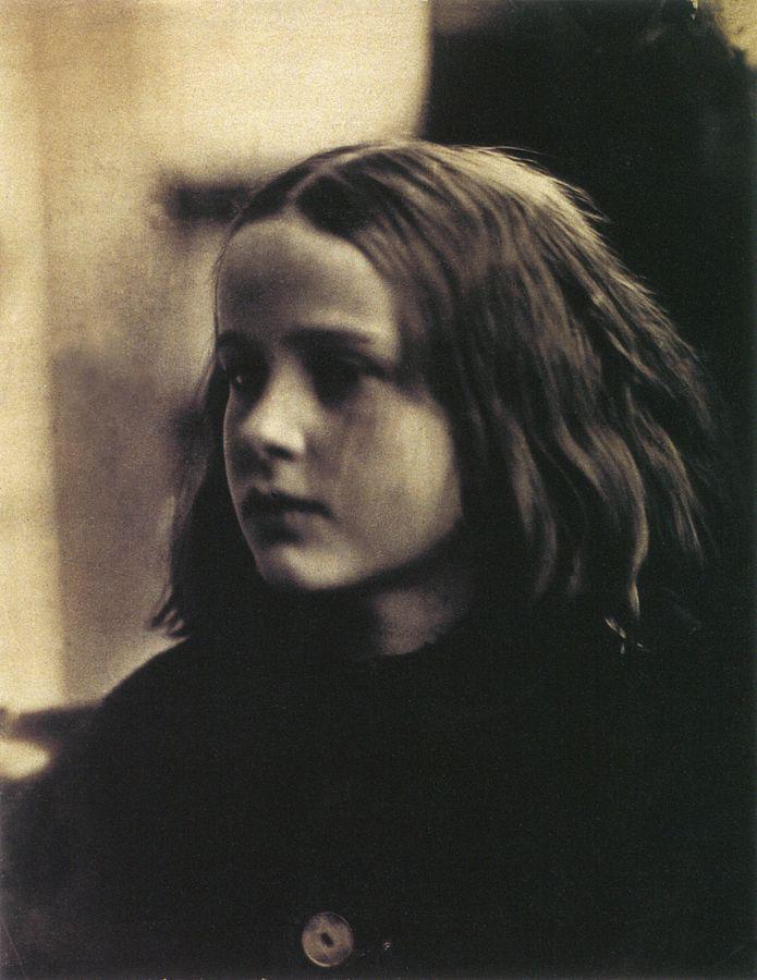 695px-Annie_my_first_success,_by_Julia_Margaret_Cameron_(restored)