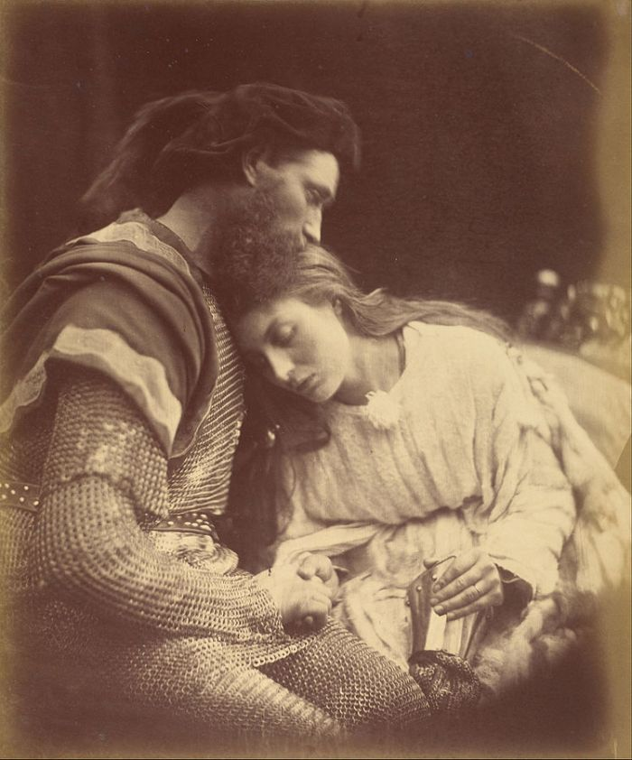 748px-Julia_Margaret_Cameron_(British,_born_India_-_Parting_of_Sir_Lancelot_and_Queen_Guinevere_-_Google_Art_Project