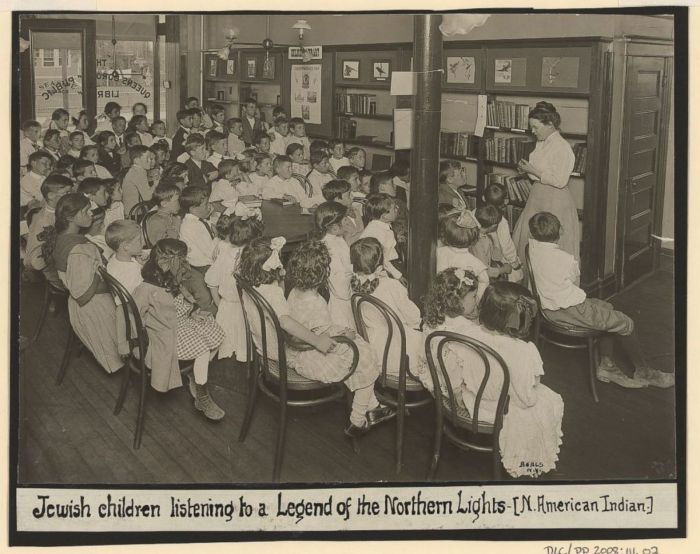 Queens Borough Public Library, 1910