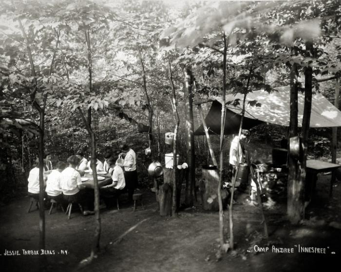 """Acampamento Andree """"Innesfree"""", 1920"""