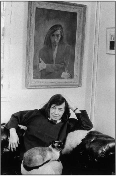 Retrato da escritora Patricia Highsmith. França, 1974. Foto: © Martine Franck/Magnum Photos