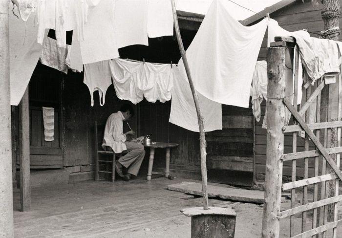 Mate en la villa, 1972. Foto: Alicia D'Amico