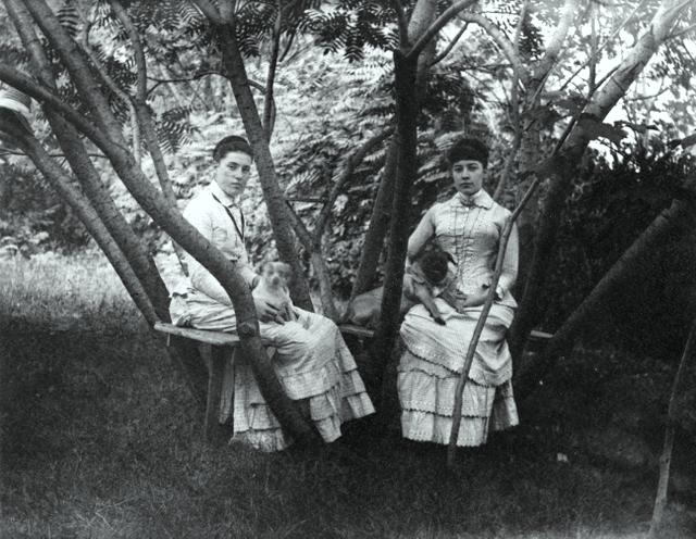 Alice Austen and Julia Martin 1892