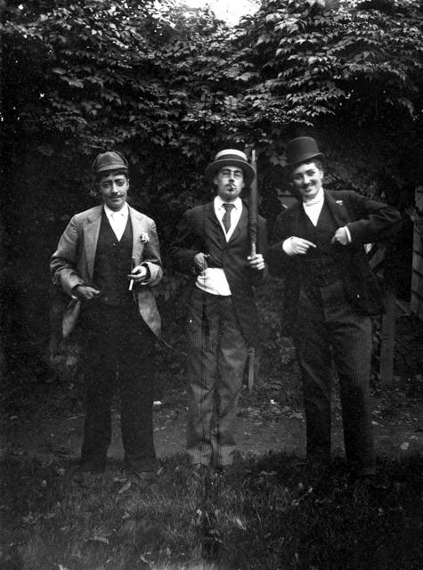 Dressed up as Men  1891