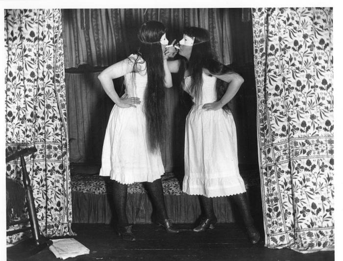 Trude & I 1891