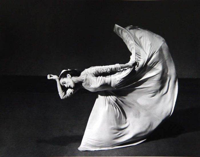 Martha Graham, letter to the world, 1940. Foto: Barbara Morgan